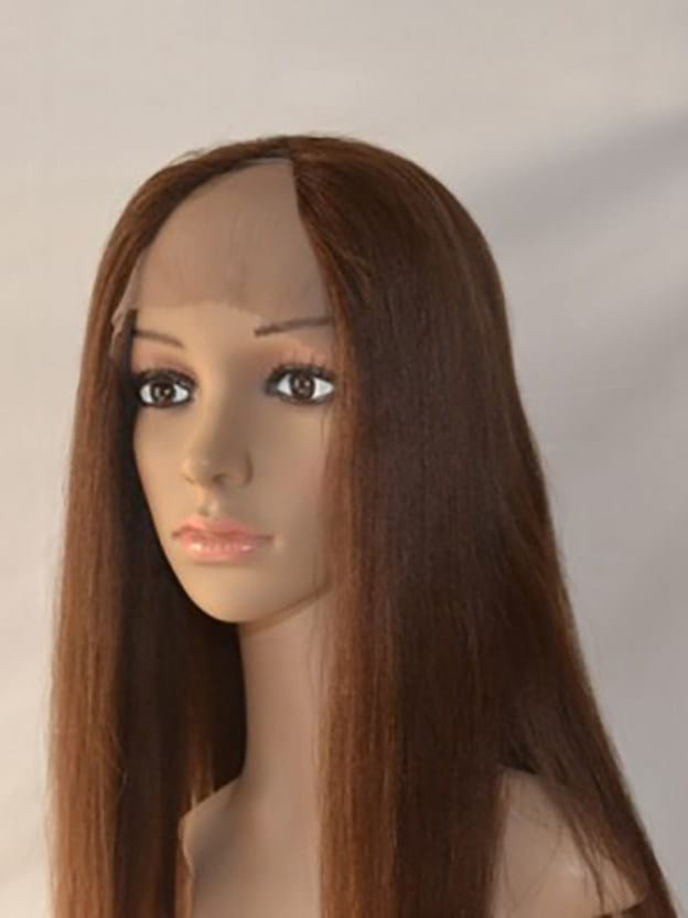Long Straight Lace Front High Quality Heat Resistant Synthetic Wigs