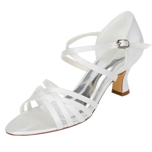 Sandals Chunky Heel Wedding Shoes