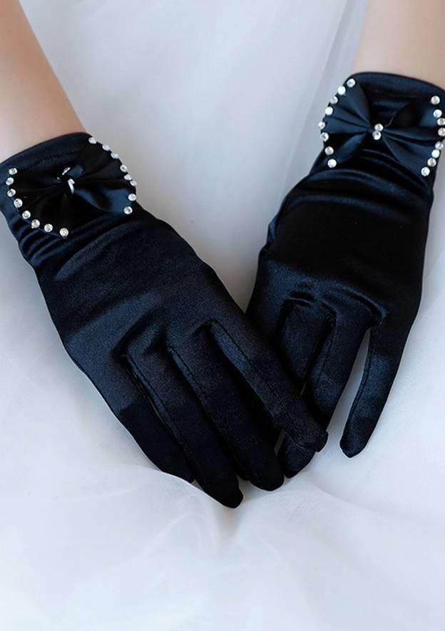 Spandex Wrist Length Party/Fashion Gloves