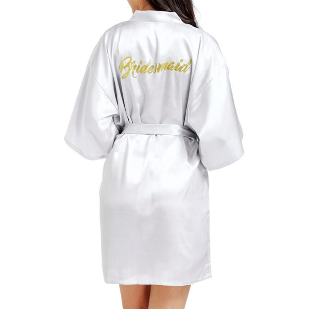 Bridesmaid Gifts - Personalized Robe