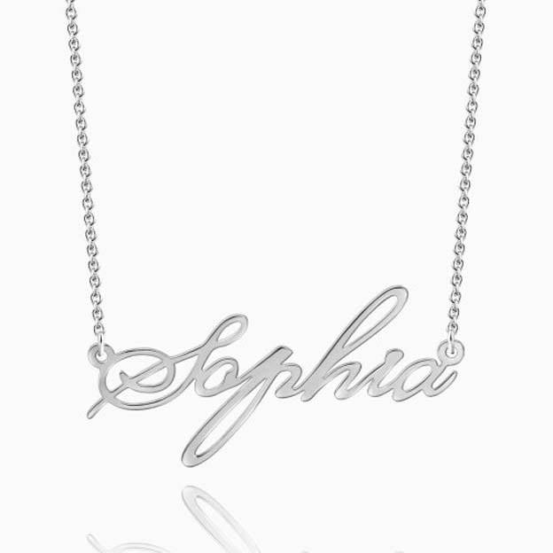 Personalized Infinity Name Necklaces