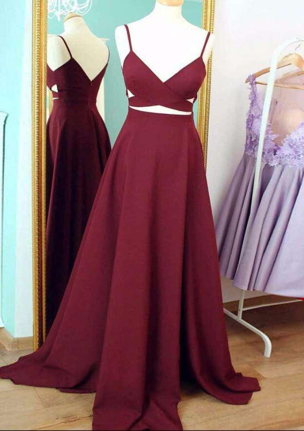 A-Line/Princess Sweetheart Sleeveless Sweep Train Elastic Satin Prom Dress