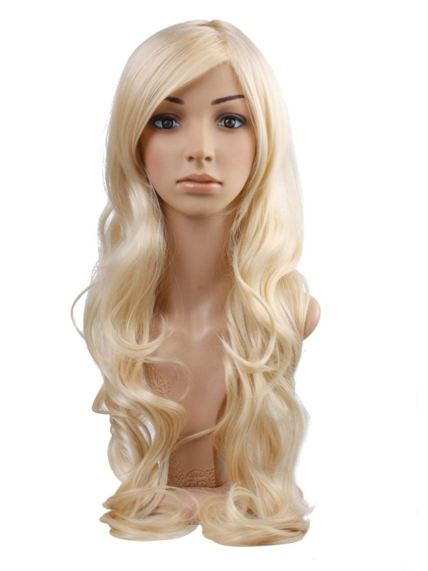 Long Wavy Capless 100% Remy Human Hair Wigs