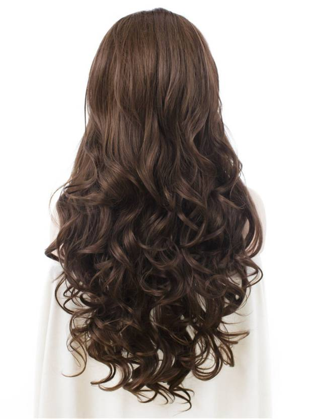 Long Curly Lace Front 100% Remy Human Hair Wigs
