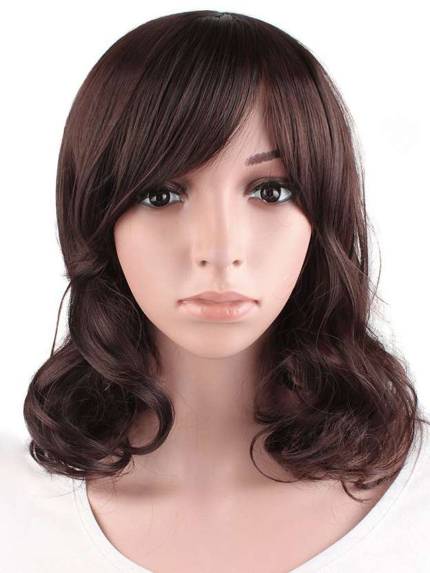 Medium Wavy Capless High Quality Heat Resistant Synthetic Wigs