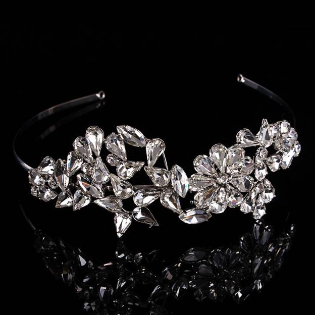 Alloy Ladies Tiaras With Crystal