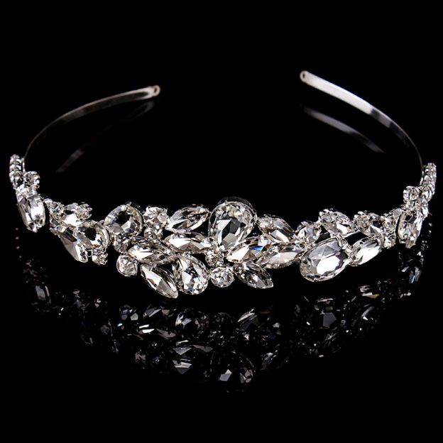 Alloy Ladies Headbands With Crystal