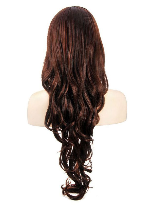 Long Wavy Lace Front High Quality Heat Resistant Synthetic Wigs