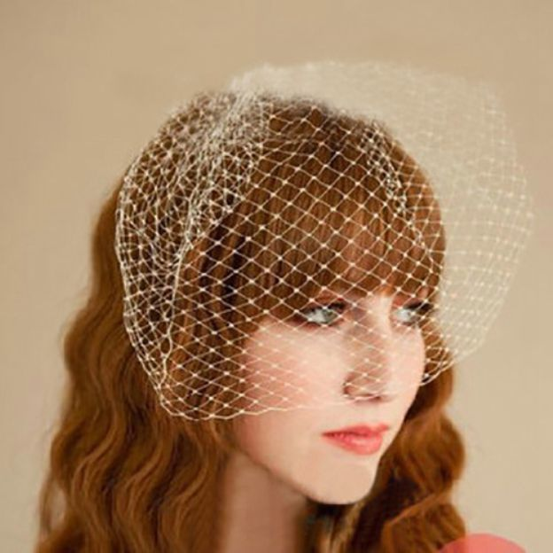 Net Yarn Ladies Birdcage Veils