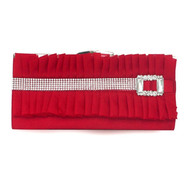 Silk Chain Wallets & Accessories With Pleated