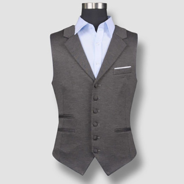 Men'S Cotton Anniversary Engagement Men'S Waistcoat