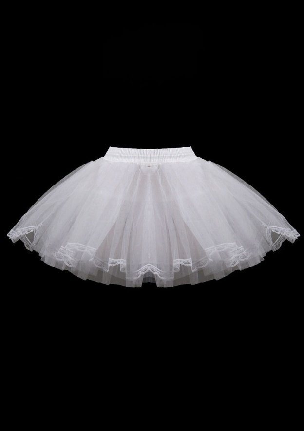 Ball Gown 2 Layers Short/Mini Tulle Bridal Petticoats