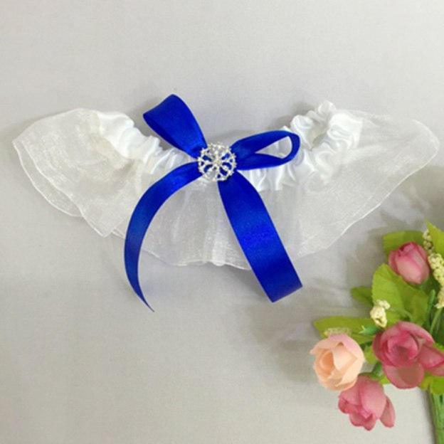 Satin Special Occasion Wedding Garter With Bowknot
