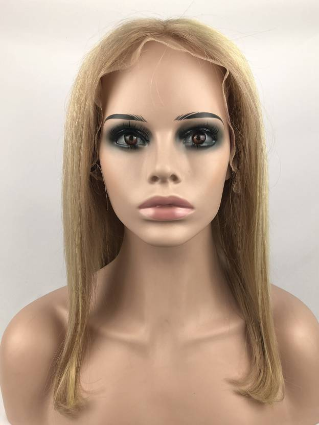 Medium Straight Lace Front 100% Remy Human Hair Wigs