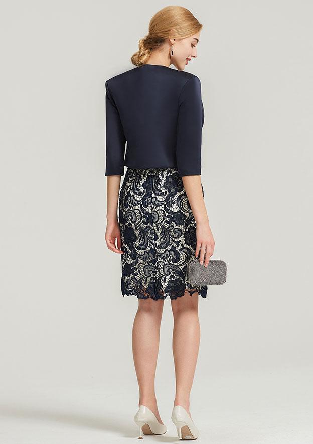 Half Sleeve Waist Length Satin Jacket