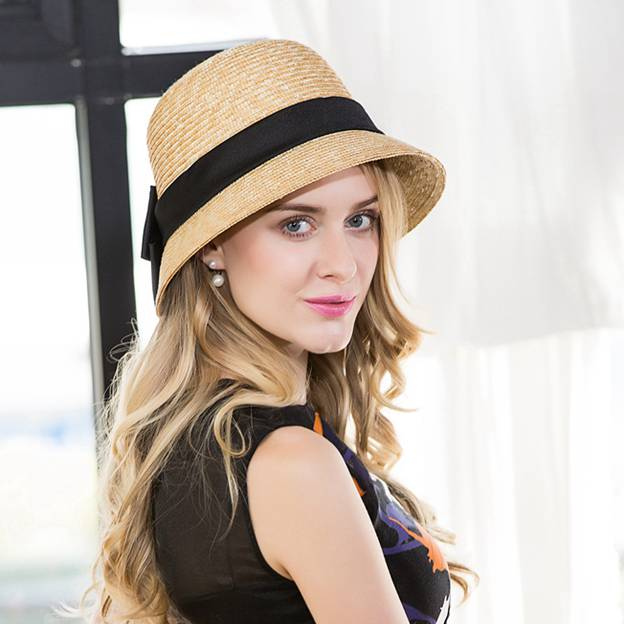 Ladies' Classic/Simple Papyrus Straw Hats/Beach/Sun Hats