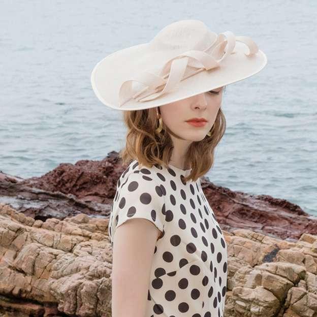 Ladies' Elegant/High Quality Linen Fascinators/Tea Party Hats With Bowknot