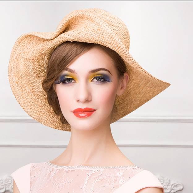 Ladies' High Quality/Eye-catching Raffia Straw Straw Hats With Bowknot