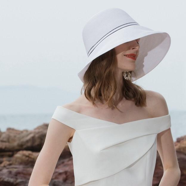 Ladies' Vintage/Classic/Simple Papyrus Straw Hats/Beach/Sun Hats/Floppy Hats