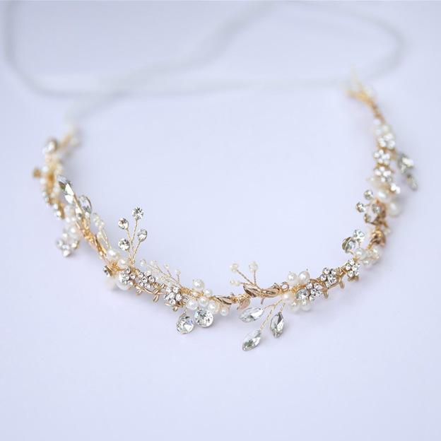 Ladies Alloy/Freshwater Pearl/Imitation Pearls With Beads/Rhinestone/Crystal Headbands