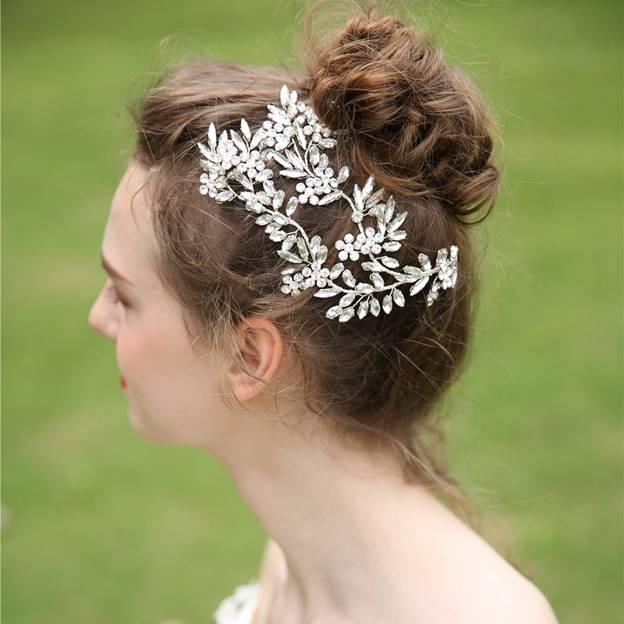 Ladies Elegant\/Simple Alloy With Rhinestone Headbands