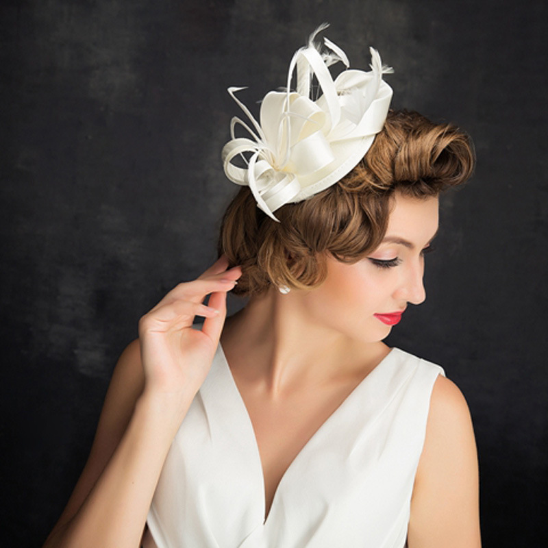 Ladies' Beautiful/Glamourous Satin Cambric Fascinators
