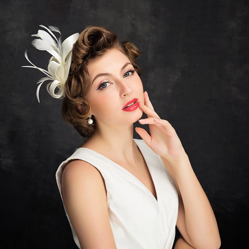 Ladies' Beautiful/Glamourous Satin Cambric Fascinators