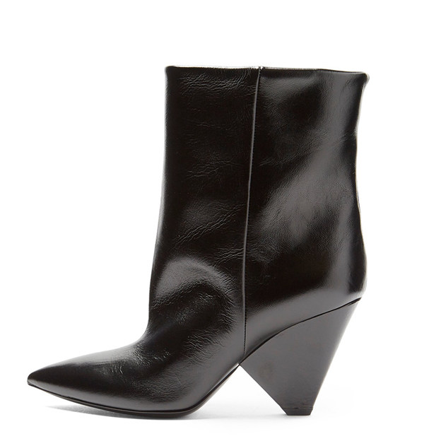 Women's PU Ankle Boots Heels Fashion Shoes