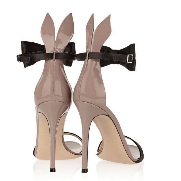 Women's PU With Bowknot/Ankle Strap Heels Sandals Fashion Shoes