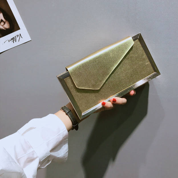 Classic Alloy Clutches/Evening Bags