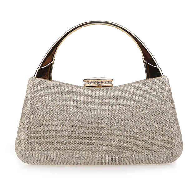 Attractive PU Top Handle Bags/Evening Bags