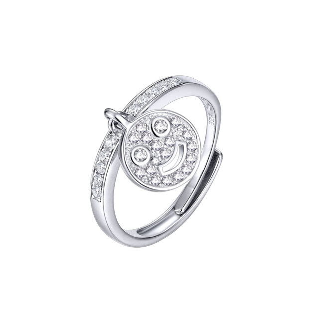Women's Attractive 925 Sterling Silver Rings With Cubic Zirconia