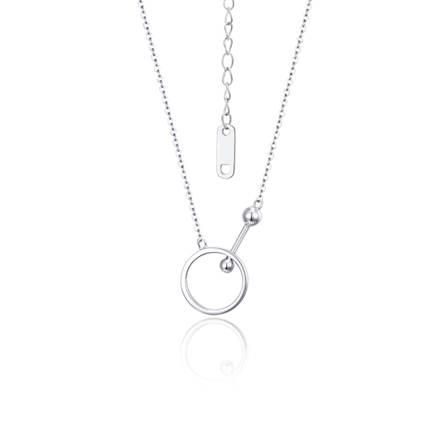 Women's Attractive 925 Sterling Silver Necklaces For Her