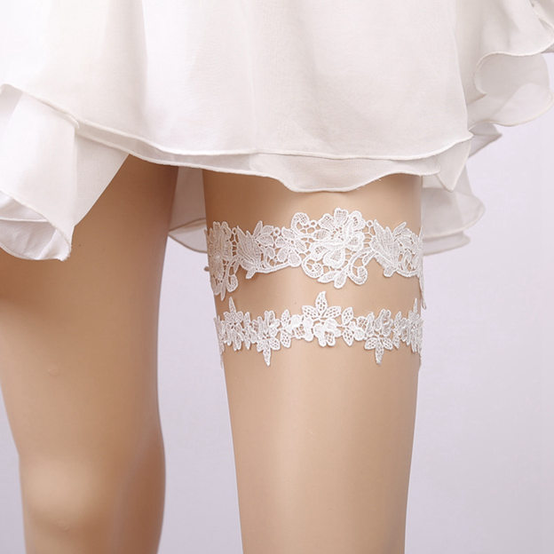 Bridal Eye-catching Lace Garters