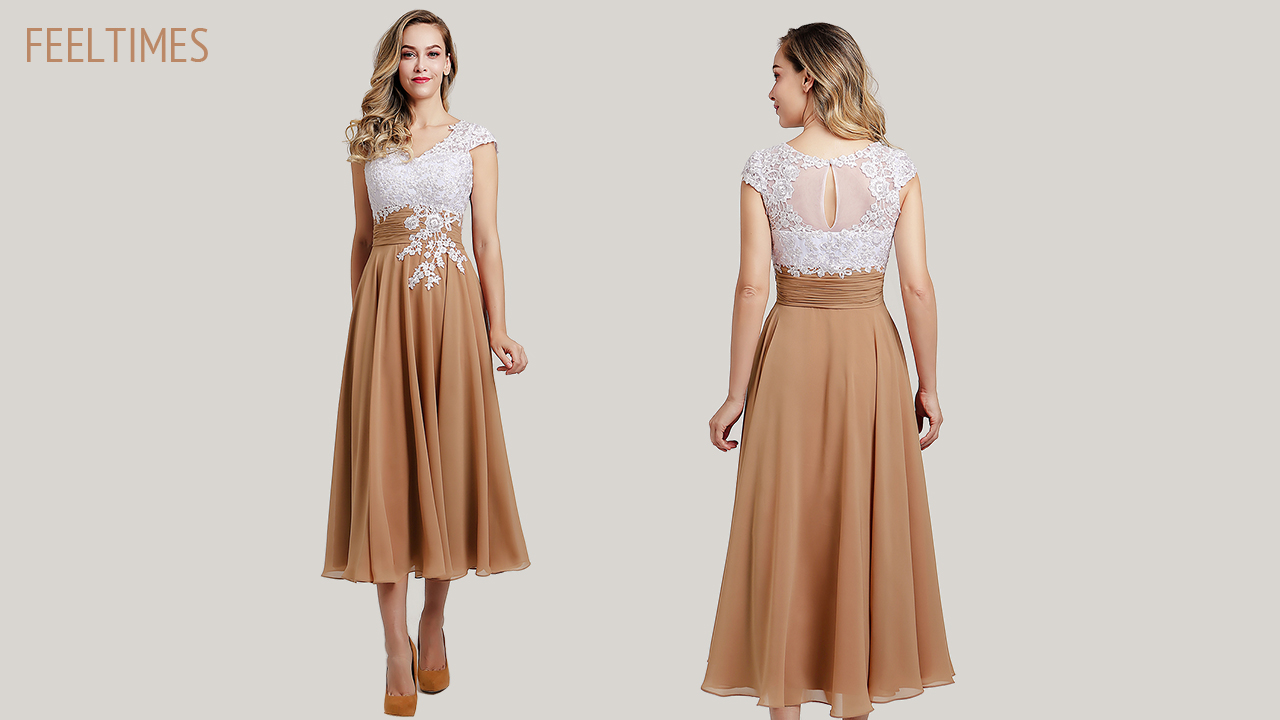 FeelTimes Reviews: Mother of the Bride Dress M18251M - FeelTimes Video Review